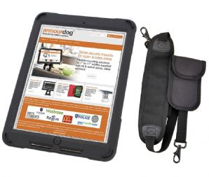 armourdog® rugged case for the iPad 2018, 2017, Pro 9.7, Air, and Air 2 - with hand & shoulder strap